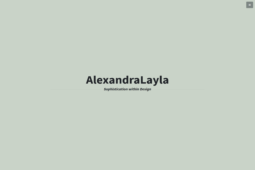 Alexandra Layla Designs Screenshot